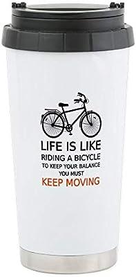 CafePress vida es como montar una bicicleta; Diseño de palabra ...
