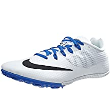 Nike Zoom Rival S8 - Track Sprint Spike - White / Blue