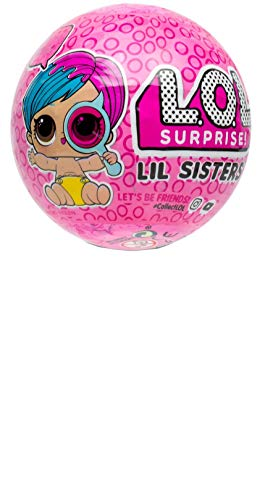 (L.O.L. Surprise! Eye Spy Series Wave 2 Lil Sister - Pack of 4)