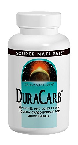 Source Naturals DuraCarb Powder, Branched- and Long-Chain Complex Carbohydrate for Quick Energy,32 Ounces