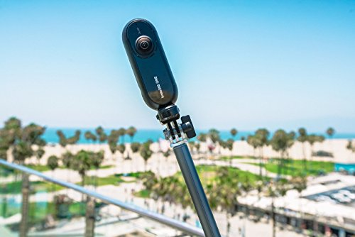 Large Product Image of Insta360 ONE 360 Camera Selfie Stick, 1/4 Screw Thread Skidproof Handed Grip Monopod Black