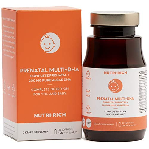 Once Daily Complete PRENATAL MULTIVITAMIN by Nutri-Rich! Eve