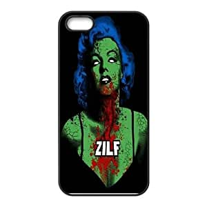 zombie marilyn monroe CUSTOM Cell Phone Case for iPhone 5,5S LMc-08570 at LaiMc