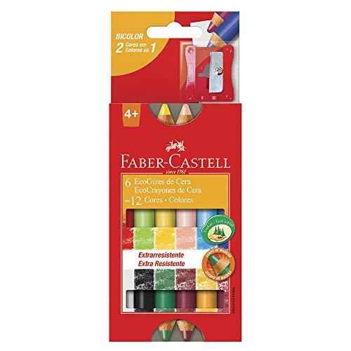 Cera Cores Faber Castell HT141412 Multicor