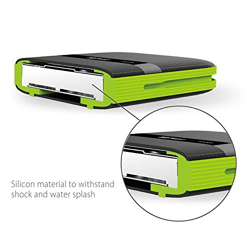 Silicon Power 2TB Rugged Portable External Hard Drive Armor A60, Shockproof USB 3.0 for PC, Mac, Xbox and PS4, Black by Silicon Power (Image #3)