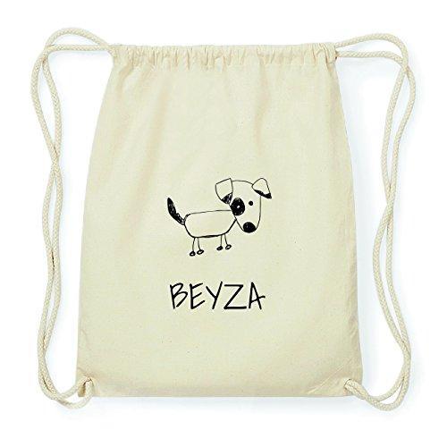 JOllipets BEYZA Hipster Turnbeutel Tasche Rucksack aus Baumwolle Design: Hund