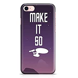 Loud Universe Make it go Star Trek Phone 7 Plus Case Star Trek Phone 7 Plus Cover with 3d Wrap around Edges