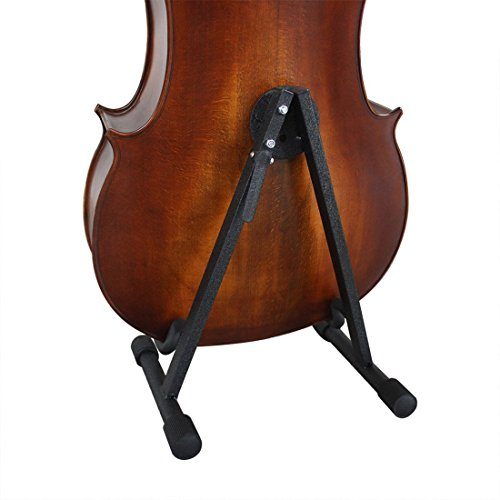 Cello Support, YIFAN Violoncello Stand String Instrument Adjustable Holder Rack