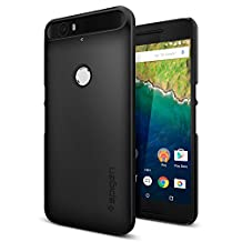 Spigen Thin Fit Nexus 6P Case with Premium Matte Finish Coating for Nexus 6P 2015 - Black