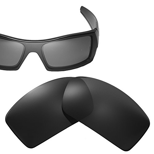 Cofery Replacement Lenses for Oakley Gascan Sunglasses - Multiple Options Available (Black - - Gascan Transition Lenses Oakley