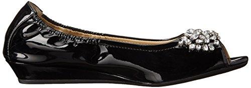 Flat ADRIENNE Womens VITTADINI Black Footwear VITTADINI Kody ADRIENNE Footwear Ballet Womens zzqw1Hr