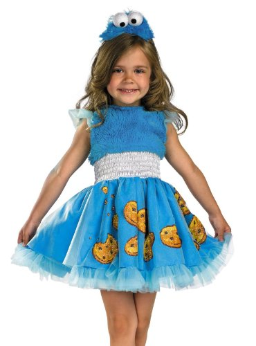 Frilly Cookie Monster Costume - Toddler