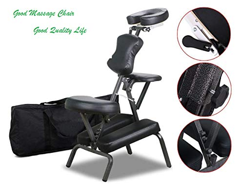 Massage Chair Stool Portable Foldable Therapy Chair- 4