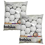 BOLSIUS Unscented Floating Candles - Set of 40