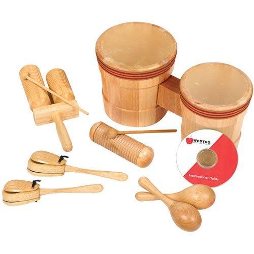 Westco Educational Products Jr. Latin American Rhythm Instruments Kit