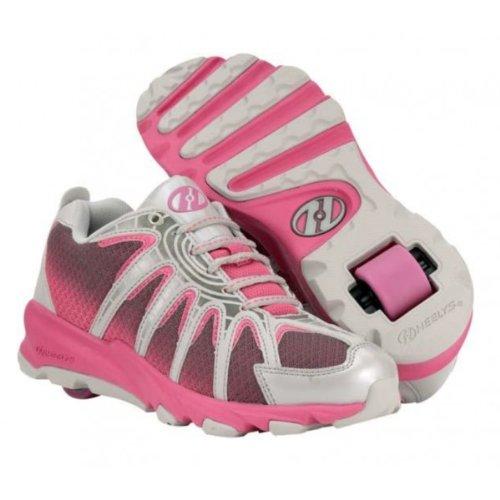 HEELYS Sonar 7968-080_Gris (Magenta Grey Silver) - Zapatillas de deporte para niña, color gris, talla 40.5