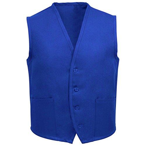 Fame Adult 2 Pocket Vest (Royal Blue -XL) V65-23314 ()