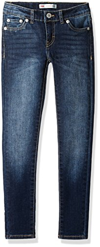 Levi's Big Girls' 710 Super Skinny Fit Classic Jeans, Blue Asphalt, 16 (Best Clothes For Skinny Girl)
