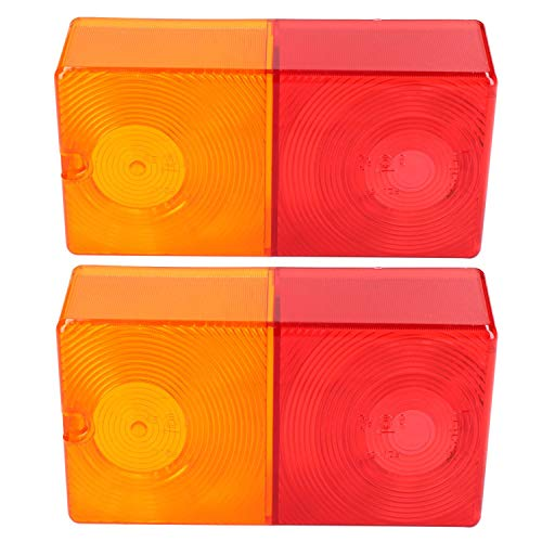 AB Tools-Maypole Pair Replacement Rear Trailer Light Combination Lamp Lens Genuine Britax