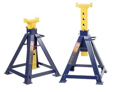 Hein-Werner HW93512 Blue Heavy Duty Jack Stand - 10 Ton Capacity