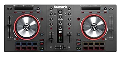 Numark Mixtrack 3 | USB DJ Controller with Trigger Pads & Virtual DJ LE Download (For Use with External Audio Interface)