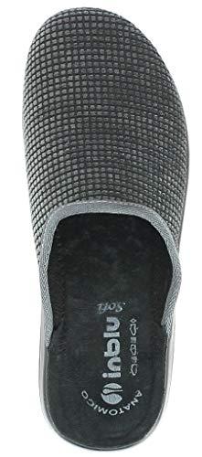 Tela De Hombre Inblu Casa Por Para Estar 43 Zapatillas Gris a0g4xnxX