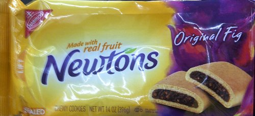 Nabisco Fig Newtons - Nabisco, Fig Newtons, Original Fig, 14oz Package (Pack of 6)