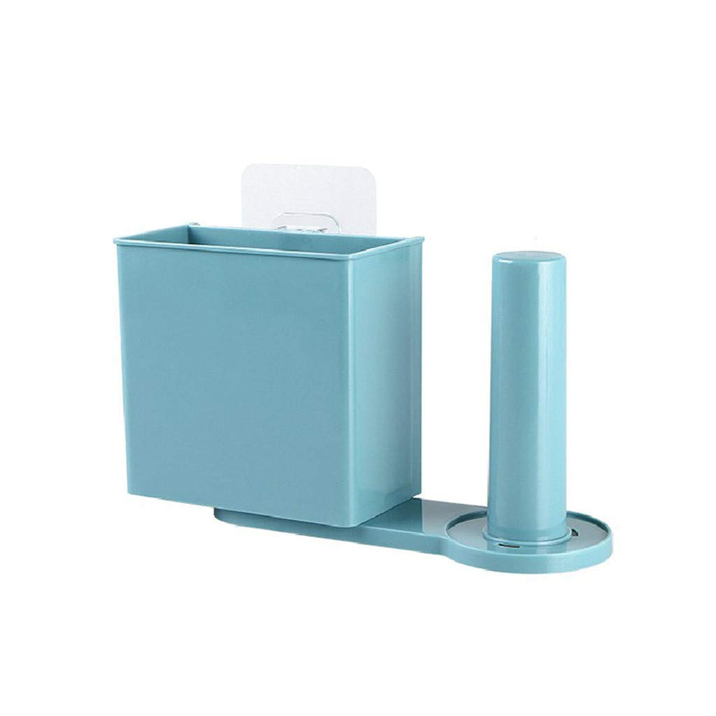 Yevison Suction Wall Kitchen Storage Organizer Film Tableware Storage Rack Paper Kitche Durable and Useful