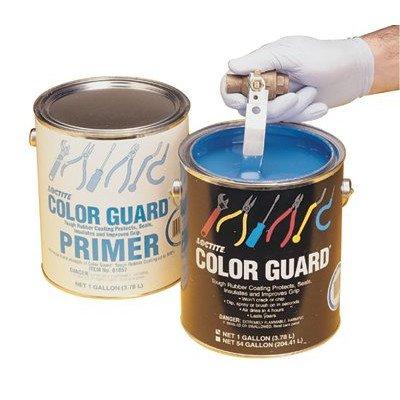 Color Guard 14.5-oz. Blue Tough Rubber Coating Matte and Semi-Gloss [Set of 12]