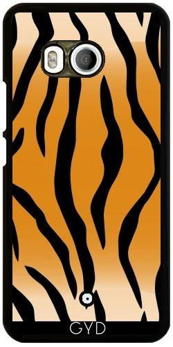 Funda para Htc U11 - Tigre Patrón Deco Abstracto by WonderfulDreamPicture
