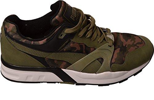 PUMA Trinomic XT 1 Camo Hombres Zapatos Verde 359042 04