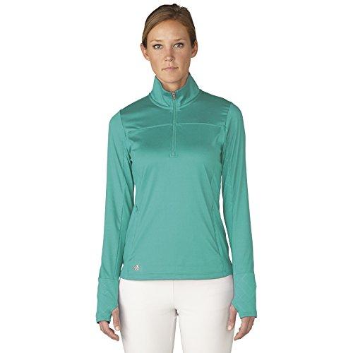 adidas Golf Women's Rangewear Half Zip Jacket, Nordic Green, X-Small ()