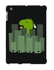 Ipad 2/3/4 Case Bumper Tpu Skin Cover For Funny Dinosaur Accessories