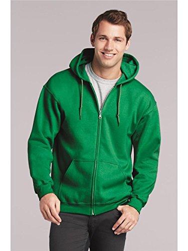 Gildan Mens Heavy Blend Full-Zip Hooded Sweatshirt