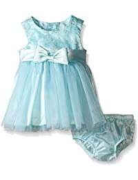 Baby Girls' Sleeveless Ballerina Party Dress With Panty
