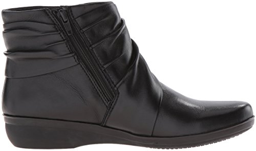 Runder Everylay Stiefel Black Leather Leder Fashion Frauen Clarks Zeh Mandy q7wAtxFAZa