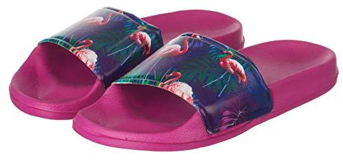Donna pink Brandsseller Da Spiaggia Flamingo Ciabatte q1UOtwfB