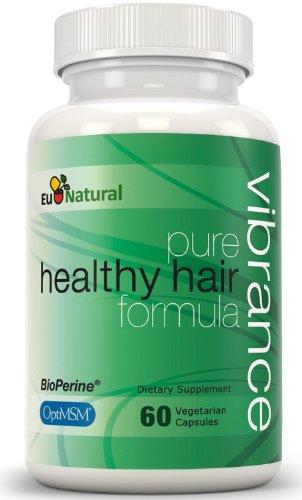 Красочность Витамины для роста волос, 60 Вегетарианская капсулы (Pure Формула толще, длиннее и более яркого волос)