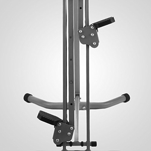 LCD Vertical Climber Stepper Climbing Machine Home Use Digital Calorie 200Kg by Happybeamy (Image #7)'