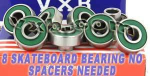 VXB 8 Skateboard Extended Bearing with Built-in Spacers B...