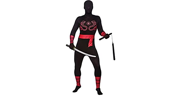 2nd Skin Ninja Lycra Adult Japan Costume warrior Skinz ...