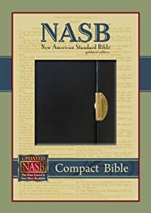 The holy bible new american standard version nasb book for New american standard bible red letter edition