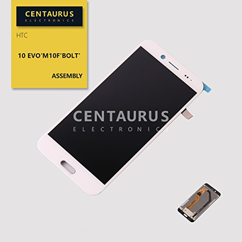 (CENTAURUS Screen fit HTC Bolt, Assembly LCD Display Touch Screen Digitizer Glass Replacement Part for HTC 10 Evo M10f / Bolt 2PYB2 Sprint 5.5 inch)