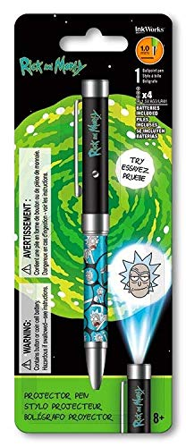 Amazon.com: The Rick & Morty - Bolígrafo proyector con ...