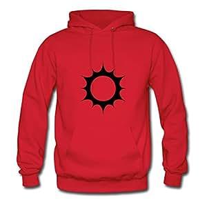 Dorastanl Sun Designed Hoody X-large For Women Red