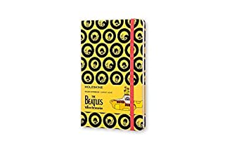 Moleskine The Beatles Limited Edition Notebook, Large, Ruled, Yellow (8055002851558) (B01DT4QVKG)   Amazon Products