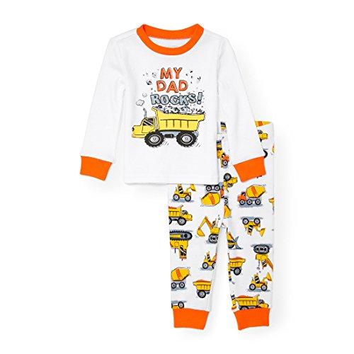 The Childrens Place Baby Dad Rocks 2 Piece Pajamas
