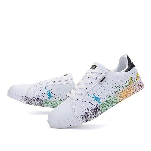 Sneakers Chaussures Unisexe Mode Tennis Chaussures de Occasionnels de Sport de RqRfI