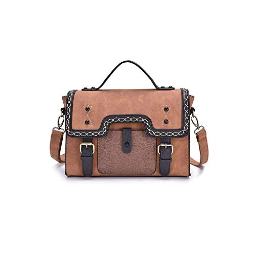 Moda Pu Luocolor Trend Messenger Korean Shoulder Bag La Handbag Sra xqYBvv