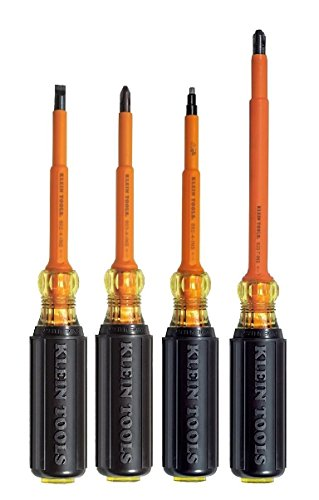 Klein Tools 602-4-INS + 603-4-INS + 633-7-INS +662-4-INS 4PC